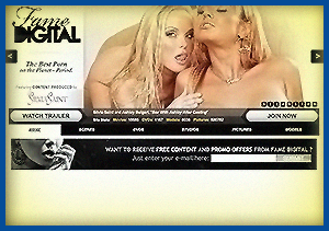 Famedigital is one of the top 10 pay sites for pornstar girls