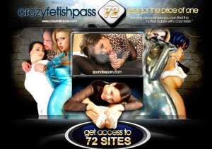 Crazy Fetish is the best pay porn pass for niche lovers